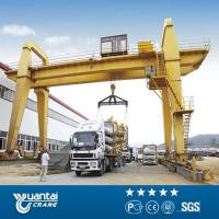 China YT Engineer Avaliable Installation double girder hook gantry crane for sale on sale