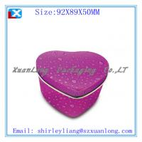 Wholesale Heart shape chocolate tin box with full color from china suppliers