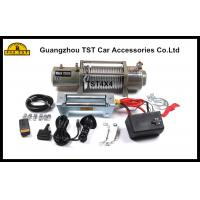 Buy cheap 12000Lbs Heavy Duty Winch Off Road Recovery Winch 4X4 Recovery Kit from Wholesalers