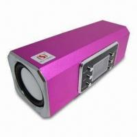 Wholesale Car Speaker Box with LED Screen FM Function, Built-in Rechargeable Battery from china suppliers