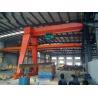 Yuantai Factory Price industrial Electric Hoist single beam semi gantry crane for sale
