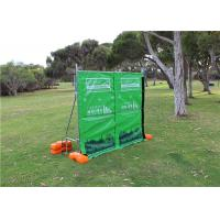 Wholesale 29dB Tarpaulin Acoustic Portable Fencing Panels Sound Wall Barrier Waterproof from china suppliers
