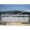 Multi Sector Structural Hinged Doors Bottom Roller Sliding Hangar Door Smart Track Design for sale