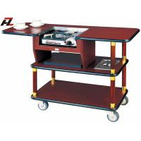 China Hotel Serving Trolley with Gas Stove for Coffee Making on sale