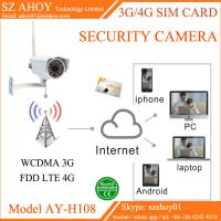 Wholesale 3G 4G sim card ip cctv security camera from china suppliers