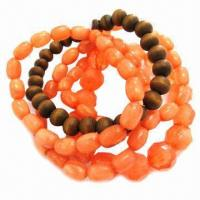 Wholesale Fashionable Bracelet Set with Wooden Beads from china suppliers