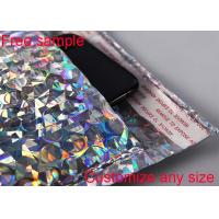 Wholesale Any Size Logo Metallic Bubble Wrap Envelopes Rainbow With Light Bubble Linings from china suppliers