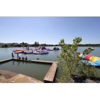 Wholesale Resort Adventure Inflatable Waterpark Tremplins Water Jump - Lac - Arroques from china suppliers