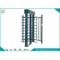 Wholesale Electronic Full Height Security Turnstiles 120 Degree Rotation Control Pedestian Gate from china suppliers