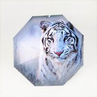 21 inch auto open close umbrella with digital printing and black coating for sale