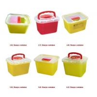 Quality Disposable Sharps Container F/R/T/Y Shape for choice for sale