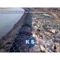 Wholesale Coastal Protection Gabion Mesh Boxes with Double Twisted Hexagonal Wire Mesh from china suppliers