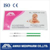 Wholesale CE ISO certified HCG Pregnancy Test Strip from china suppliers