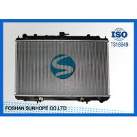 Wholesale Inlet / Outlet 35mm Nissan Car Radiator , Nissan Maxima Radiator 713*47.5mm Tank from china suppliers