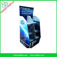 Buy cheap 6 pockets Paper material shelf cardboard point of sale supermarket chimes and from wholesalers