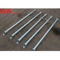 Buy cheap Zinc Plated Screw Jack Shoring Posts For Formwork Wall Bracing 2700mm / 4000mm from wholesalers