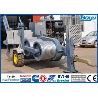 Wholesale 120kN 12T Power Line Stringing Equipment Hydraulic Puller German Rexroth Pump Motor / Reducer from china suppliers