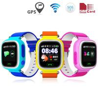 China LBS WIFI Kids Smart GPS Watch , Wrist Watch GPS Tracking Device TFT Display on sale