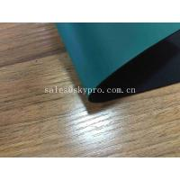 China Fireproof Antistatic Rubber Sheet 2mm Green Rubber Garage Floor Mat 1.4-1.7 G/Cm3 Density on sale