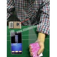 Wholesale Button Auto Sensor Poker Cheating Camera Poker Scanner For Dealer / Player from china suppliers