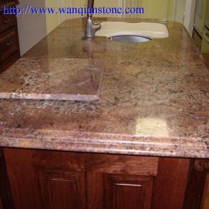 Yellow Granite kitchen countertop