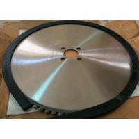 Buy cheap Steel rail cut 660mm 80 teeth number 8CrV tungsten carbide tipped saw blade from Wholesalers