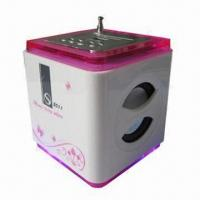 Quality ABS Cube Shape Mobile Phone Mini Speaker with 3W x 2 Power Output for sale