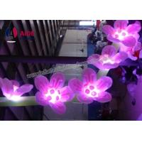 Buy cheap Custom Made Inflatables LED Flowering Lights , Blow Up Hanging Ceiling Decoration from Wholesalers