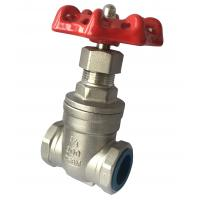 Wholesale Chemical Resistant Manual Stainless Steel Gate Valve Female Thread from china suppliers