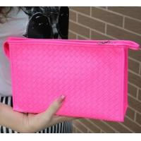 Wholesale Fashion knitting fluorescent high-capacity lady makeup bag from china suppliers