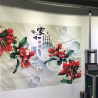 Wholesale 120w 18㎡/H CMYK 3D Vertical Wall Printer TX800 Nozzles from china suppliers
