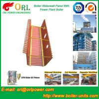 Quality Solid Fuel Boiler Water Wall Tubes , High Temperature Water Wall In Boiler for sale