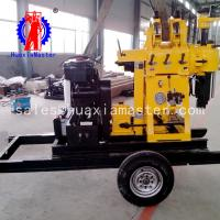 Wholesale Huaxiamaster hot sale XYX-200 wheeled hydraulic water well drilling rig Hydraulic cylinder for drilling rig easy to move from china suppliers