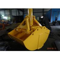 Wholesale One Cylinder Clamshell Excavator Grab Bucket Komatsu Telescopic Boom Grapple Bucket from china suppliers