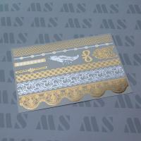 Wholesale Metallic gold tattoo sticker, Gold foil temporary tattoo from china suppliers