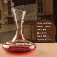Wholesale Alymayca Crystal Wine Decanter 68 oz Luxury Wine Gift Crystal Glass Liquor Decanter from china suppliers