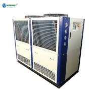 China Best Price & Service Dairy Glycol Chilling Air Cooling Heat Exchanger Plate 20 HP Glycol Water Chiller For Milk Cooling on sale