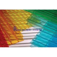 Buy cheap Colored polycarbonate hollow sheet from wholesalers