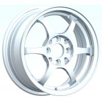Wholesale Polish Sliver 15 Inch Alloy Wheels With Machine Cut Lip from china suppliers