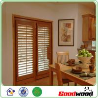 Wholesale Decorative Adjustable Louver Window Plantation Basswood Shutter from china suppliers