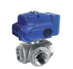 Wholesale pneumatic actuator flange ball valve 3 way pneumatic air actuated ball valve from china suppliers