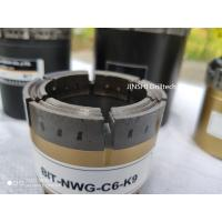 China NWG diamond core drill bits, geological exploration, mineral core drilling for sale