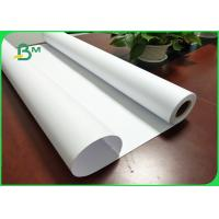 China 20# Inkjet Plotter Paper High Brightness FSC Certified For HP Printer Length 100m on sale