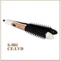 China 110-240V Spiral Curl Ceramic Curling Iron Hair Curler Hair Flat Iron in one on sale