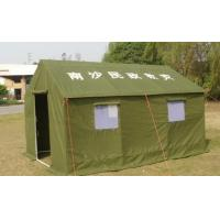 Buy cheap Disaster Relief Heavy Duty Canvas Tents Frame Style For Army / Military from wholesalers