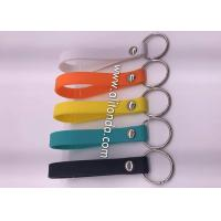 China High grade debossed multi-color silicone wristband sports wrist band custom and supply for sale