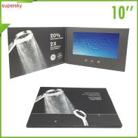 Wholesale Company intruction lcd video Brochure Custom handmade LCD Video Card from china suppliers