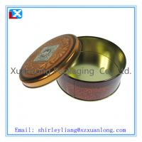 Wholesale christmas large round biscuit tin from china suppliers