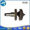 Changfa CF118 CF139 diesel engine forged steel crankshaft manufacturers for sale