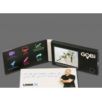 Quality Super Definition LCD Video Player Greeting Card / LCD Video Module With MP3 / for sale